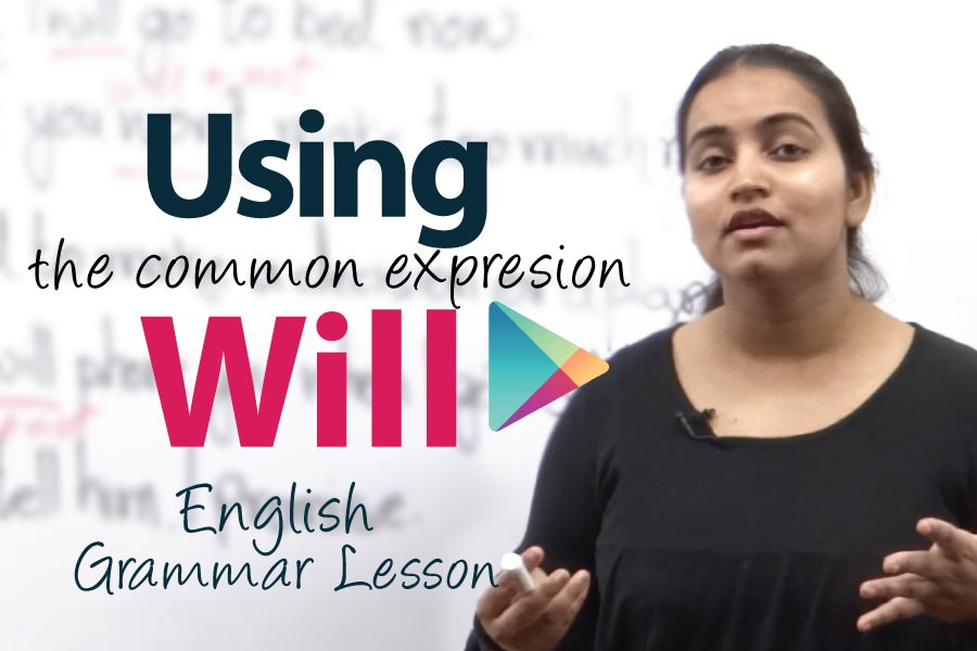 English Grammar lesson - Future tense