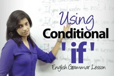 Using The Conditional -'IF' – English Grammar lesson