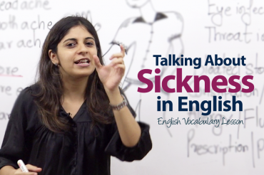 Talking about Sickness in English