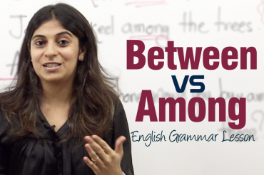 Between Vs Among – English Grammar Lesson ( IELTS & TOEFL)