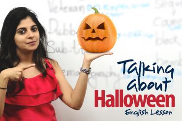 Halloween – English Lesson ( ESL )