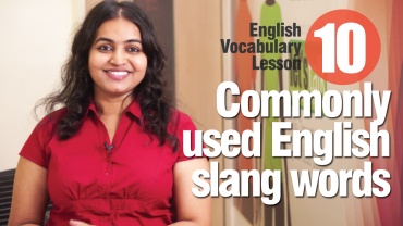 10 commonly used slang words used in English