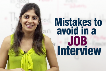 Mistakes to avoid during a job interview – Job interview tips