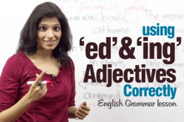 Using adjectives ending with 'ed' & 'ing' correctly?