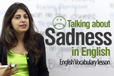 Talking about Sadness in English