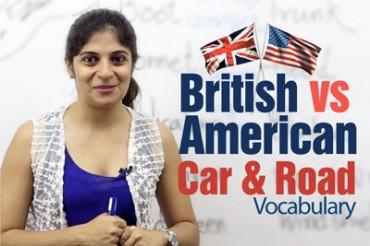 British English  vs American English – Car & Road Vocabulary