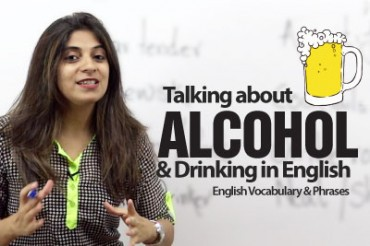 Talking about alcohol in English