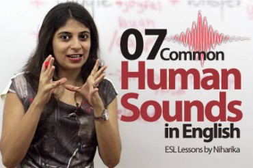 07 commonly produced human sounds in English.