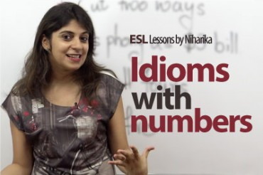 Idioms with numbers.