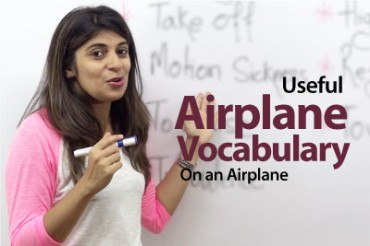 Vocabulary – On an Airplane