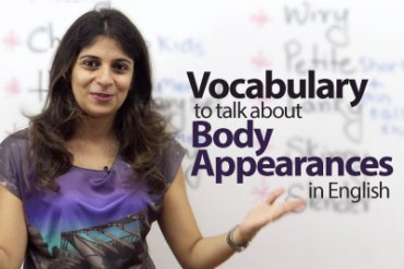 Vocabulary – Body Appearances