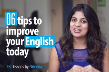 06 Tips To Improve Your English Today!