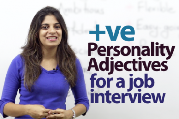 08 Positive Personality Adjectives for a job Interview.