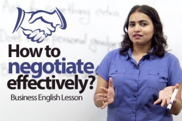 How to negotiate effectively?