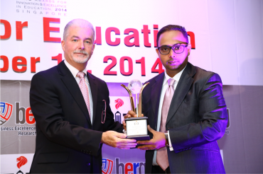 Let's Talk Institute bags honours at BERG Awards for Education in Singapore.