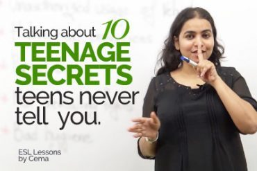 10 Teenage Secrets teenagers will never tell  you.
