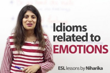 Idioms related to Emotions