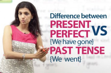 Present Perfect tense (We have gone) VS  Simple past tense (We went)