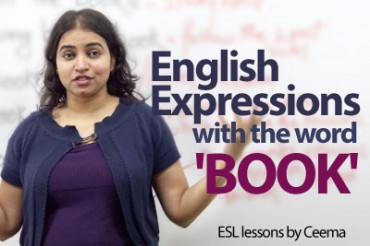 English Expressions with the Word 'BOOK'