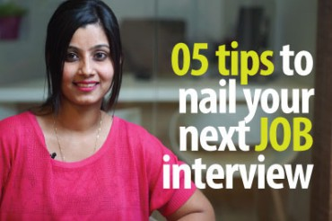 05 tips to nail your next job interview.