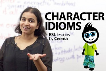 12 idioms to describe the character of a person.