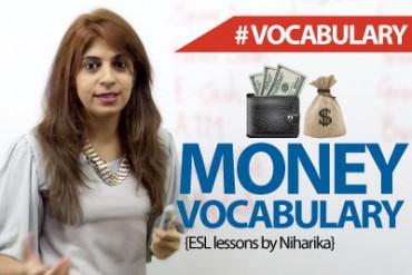 Money Vocabulary .