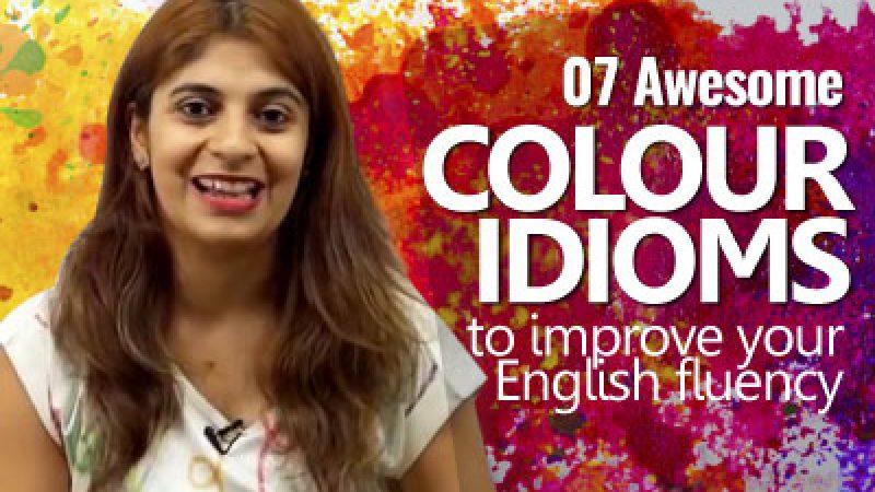 07 Handy Colour Idioms.
