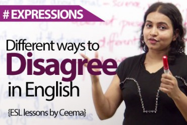 Different Ways To Disagree In English.