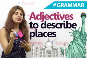 Adjectives to describe places.