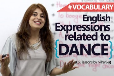 English Expressions Related To Dance.
