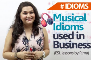 Musical Business idioms to rock your meeting room.