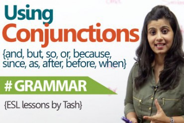 Using Conjunctions correctly in a sentence.