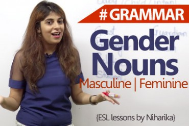 Learning Gender Nouns.