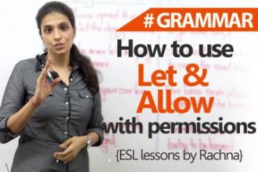 How to use 'Let' & 'Allow' with permissions?