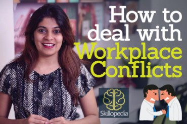 How to deal with workplace conflicts?