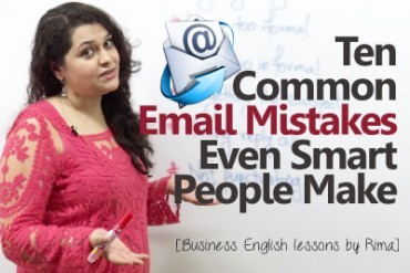 10 common Email mistakes even smart people make.
