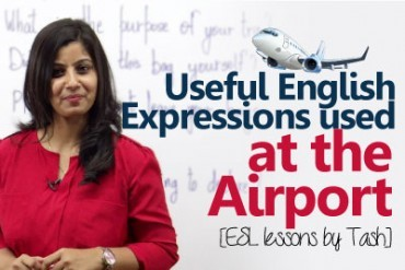 English expressions used at the Airport