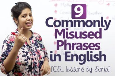 09 commonly misused phrases in English