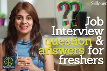 Common job interview Questions & Answers for freshers.