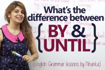 Difference between 'BY' and 'UNTIL'