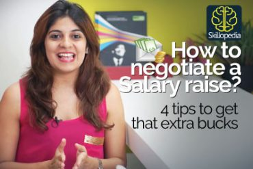 Learn 4 tips – Asking your boss for a salary raise.