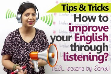 10 ways to improve your English by listening