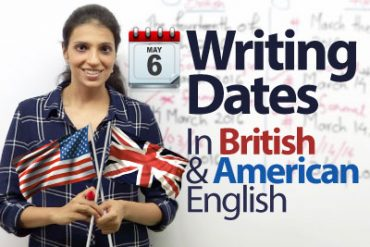 Writing 'Dates' in English.