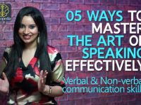 5 ways to master the art of communication (Public Speaking Skills)