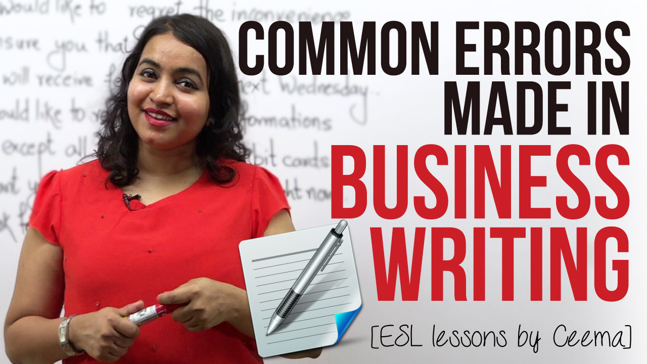 common errors in business emails  u0026 letters