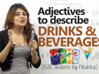 Smart English Words to describe 'drinks & beverages'
