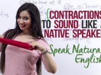 Using 'Contractions' – Sound natural & Speak English like Native Speakers