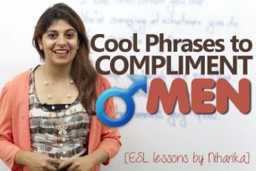 Cool English phrases to 'Compliment Men'