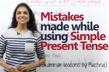 Mistakes made while using 'Simple Present Tense'