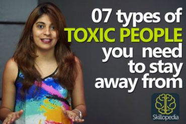 07 types of toxic people you need to stay away from.